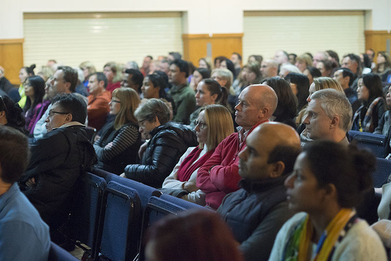 Parents look on as experts share their knowledge on drugs