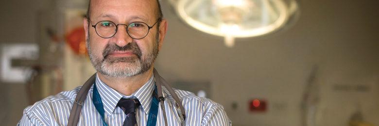 Prof George Braitberg  Royal Melbourne Hospital trauma ward