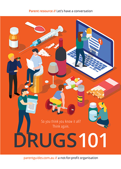 Drugs 101 Booklet Cover