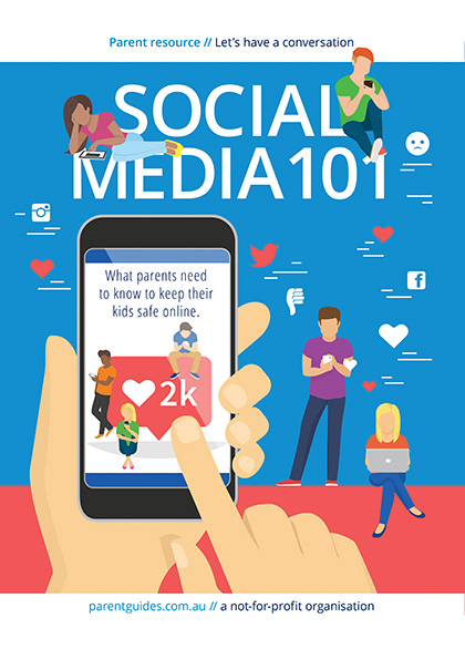 Social Media 101 Booklet Cover